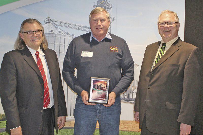 Seeser honored by Sukup Manufacturing