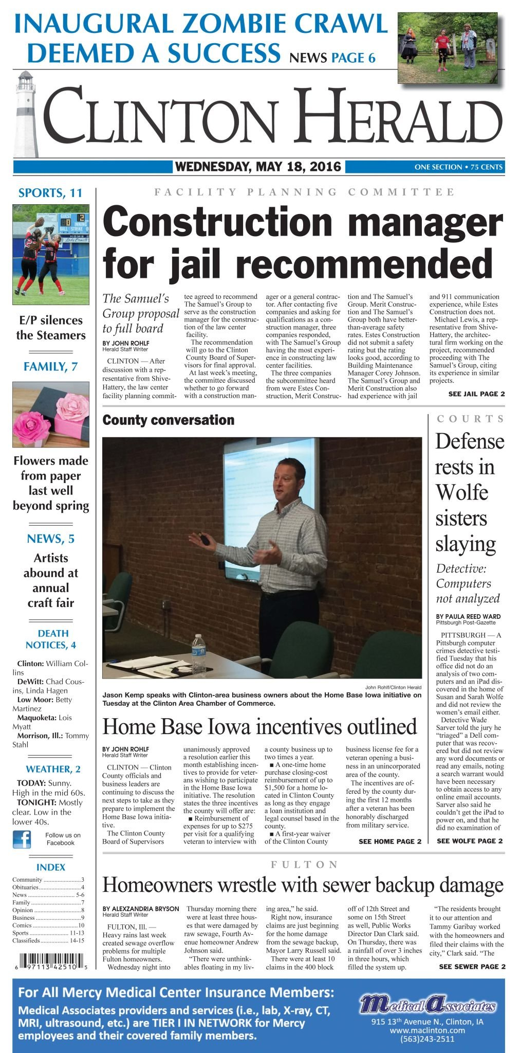 County outlines Home Base Iowa incentives | Local News
