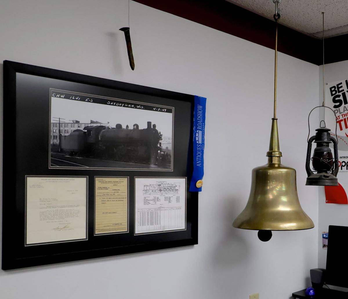 Chicago and Northwestern railroad bell