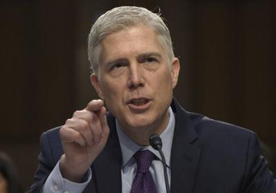 Confirming Gorsuch to Supreme Court