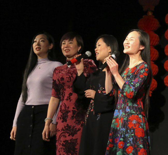 Chinese students celebrate Year of the Pig with community