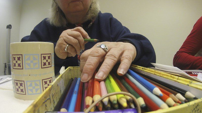 Adult coloring craze spreads | Lifestyles | clintonherald com