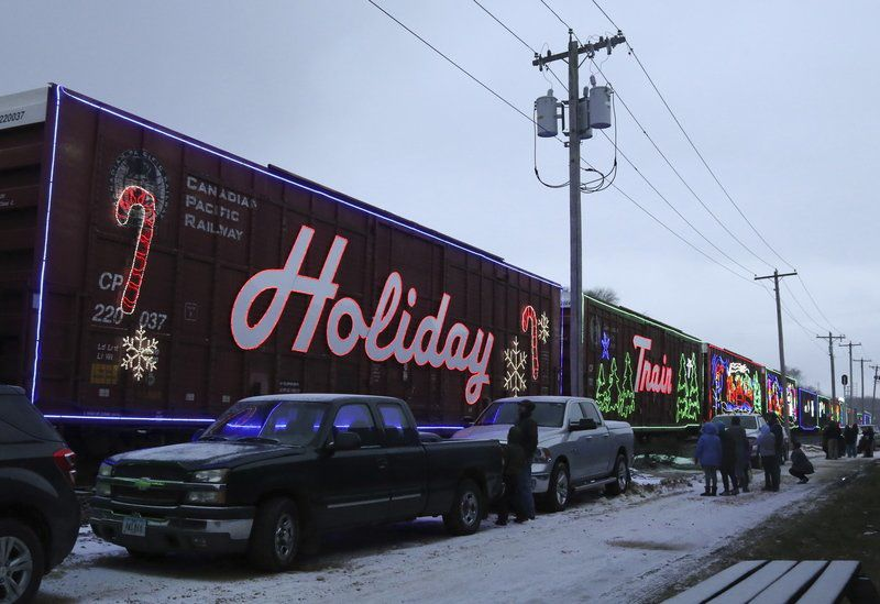 Holiday Train Chugs Into City