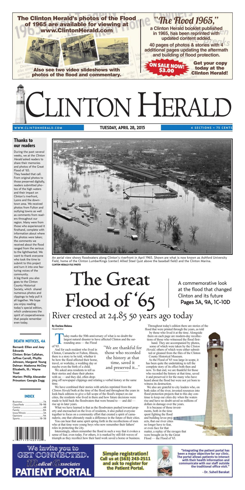 SPECIAL EDITION: Great Flood of 1965