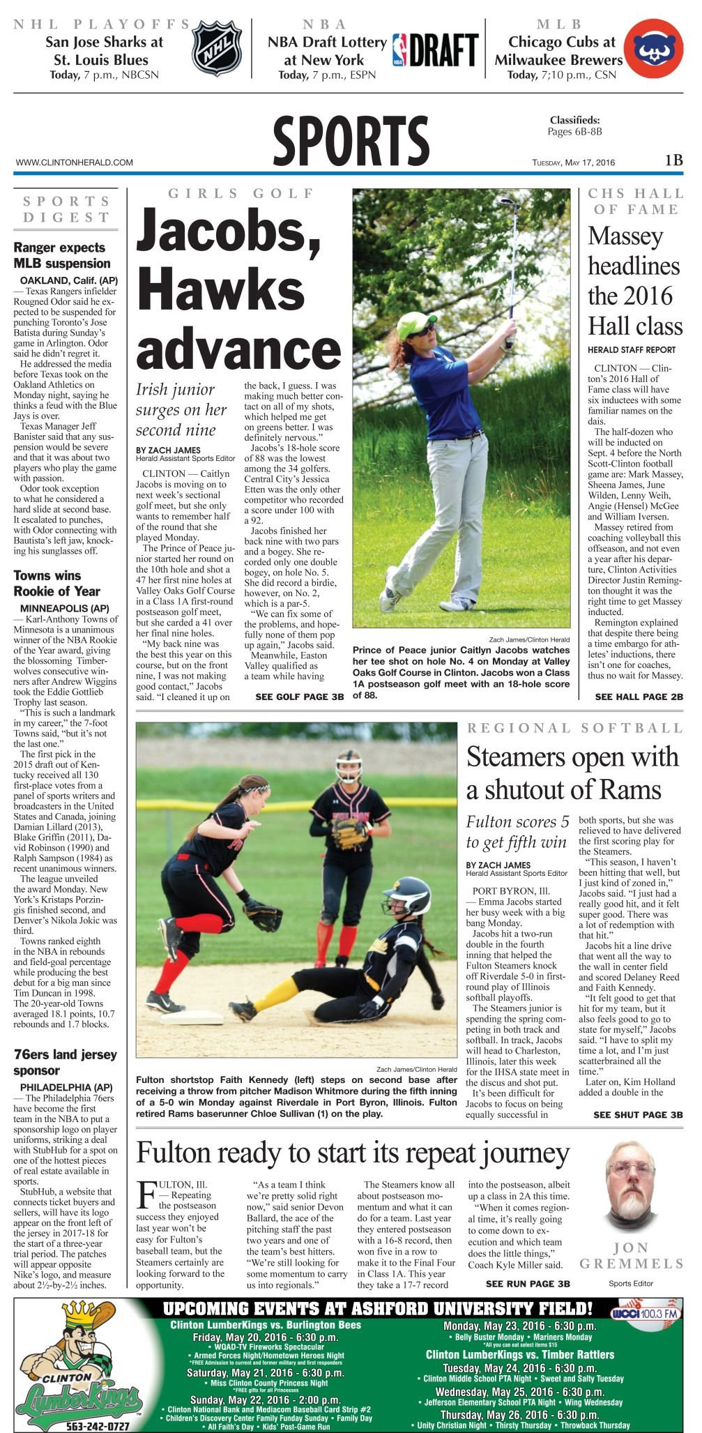Sports Page