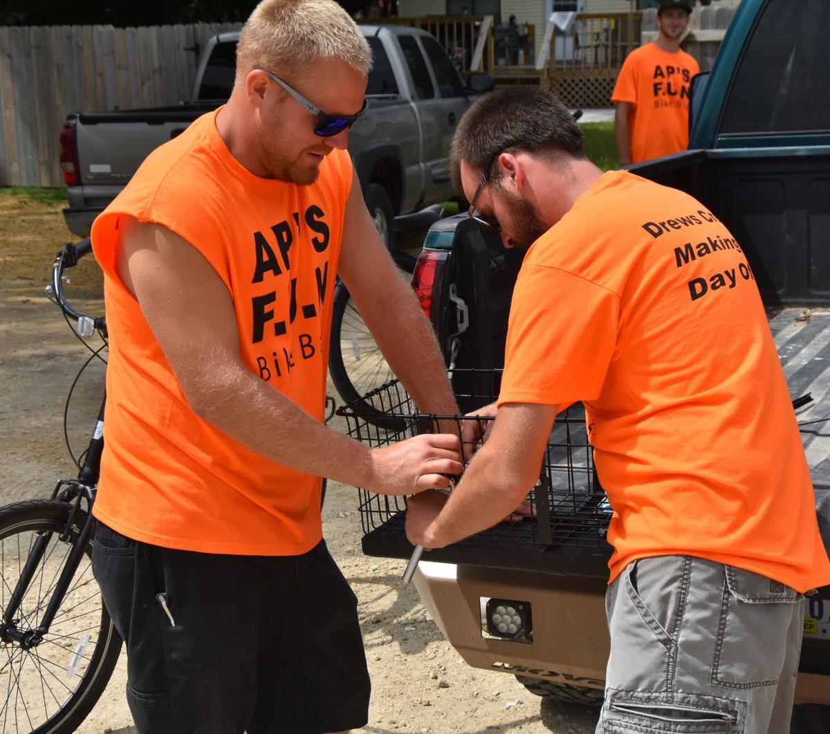 Bike ride, pub crawl benefits local families