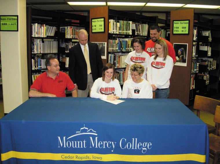 Mount Mercy signing