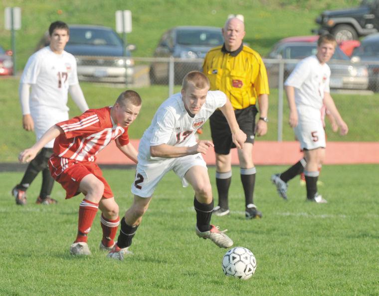 Davenport West vs. Clinton boys soccer