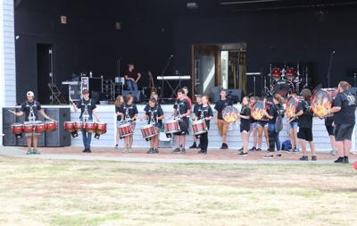 percussion, back2school bash, national night out