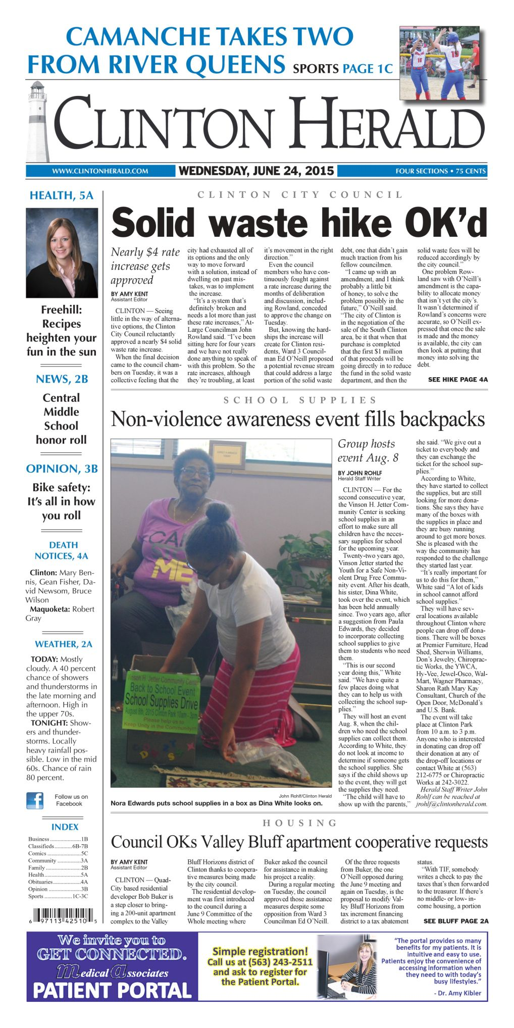Non-violence awareness event fills backpacks | Local News
