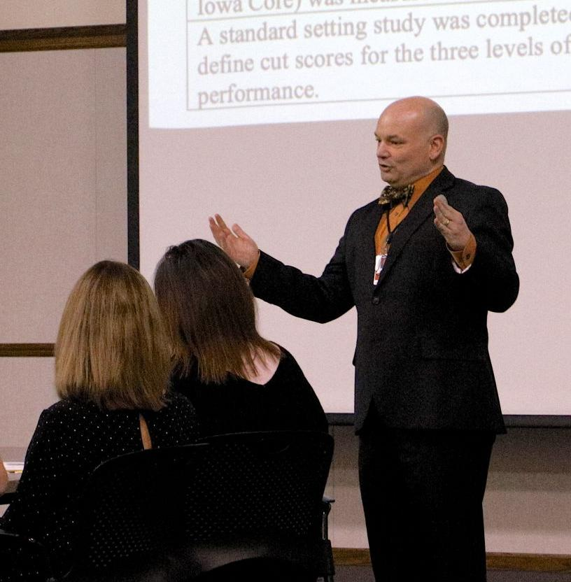 wes golden addresses clinton community school district board