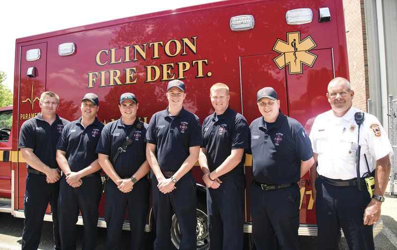 HEAVY LIFTING: Firefighters comforted by community support