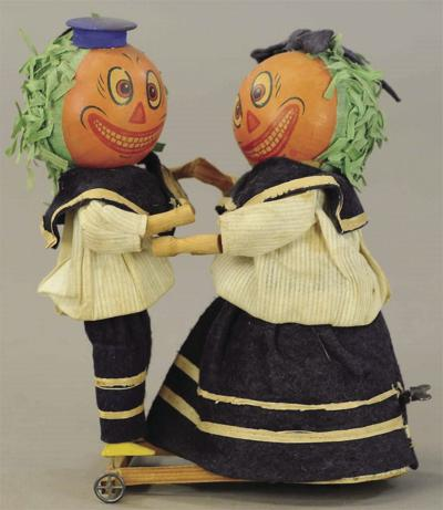 Pumpkin dancers