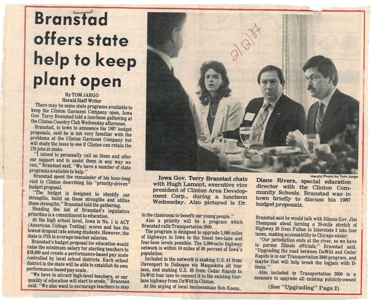 Throwback Thursday: Branstad