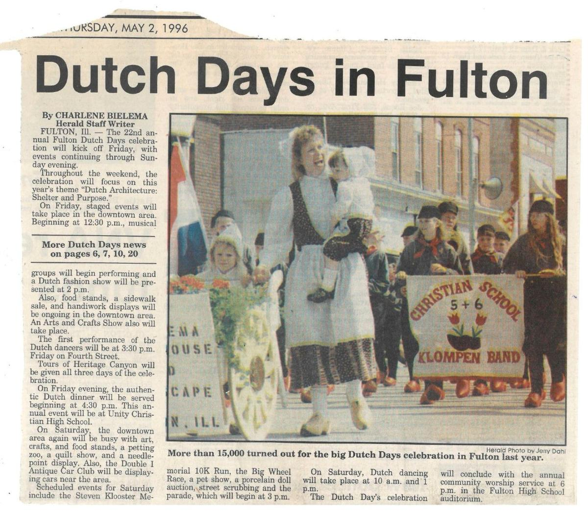 Dutch Days 1996 preview