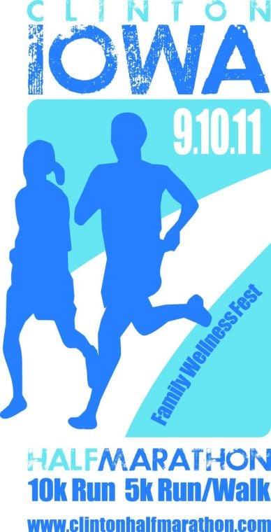 Half marathon logo