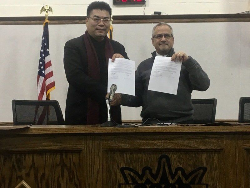 Agreement Signed International Students Coming To Clinton Local