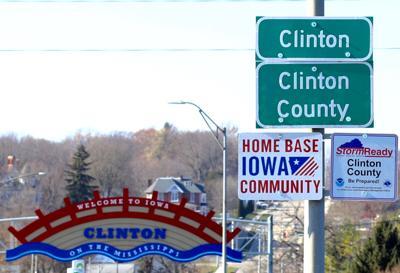 clinton county sign
