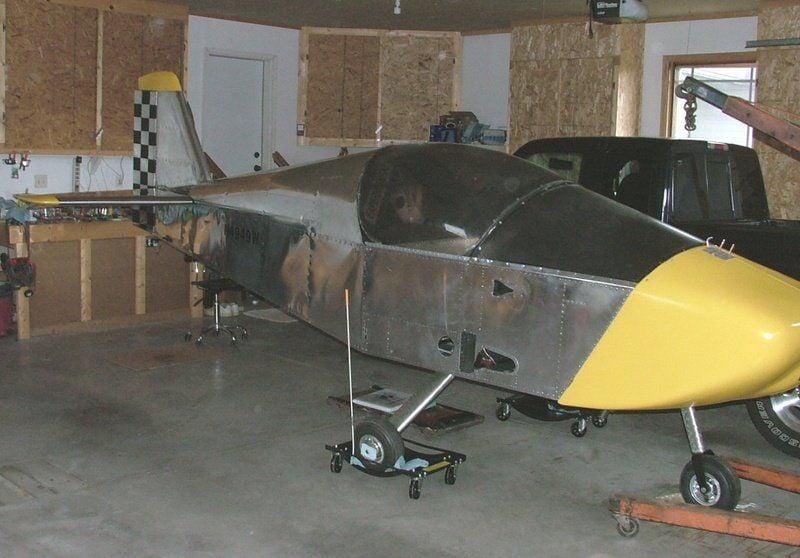 Clinton man builds plane in basement