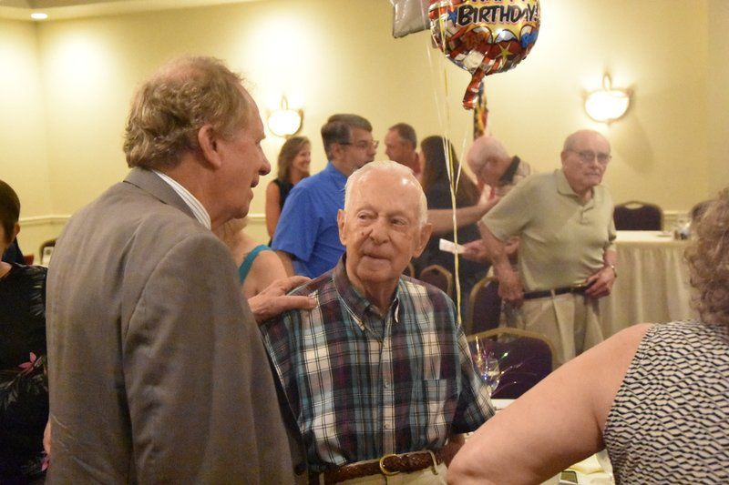Clinton surprises local icon on 99th birthday