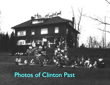 Iten Christmas display is pictured in 1928. The Bill Taplin Collection