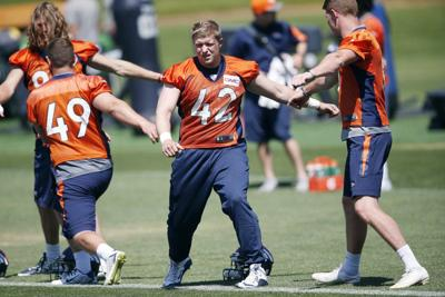 pretty nice 56093 7255a Kreiter makes Broncos debut | Sports | clintonherald.com