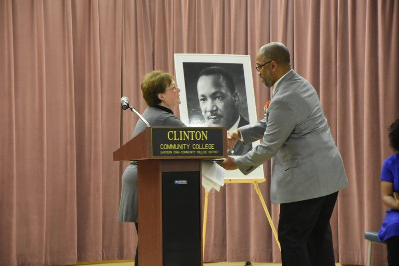 King's life, message celebrated at CCC