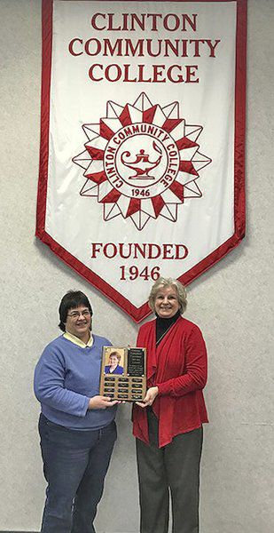 Turnis honored with Connie Campbell award