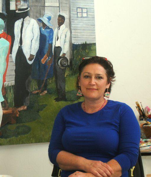 Hart brings commercial art studio to Clinton