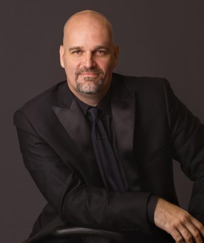 Brian Dollinger, conductor, Clinton Symphony Orchestra