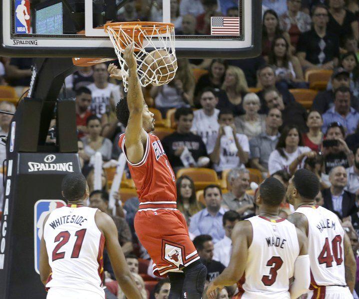Huge rally lifts Bulls over Heat
