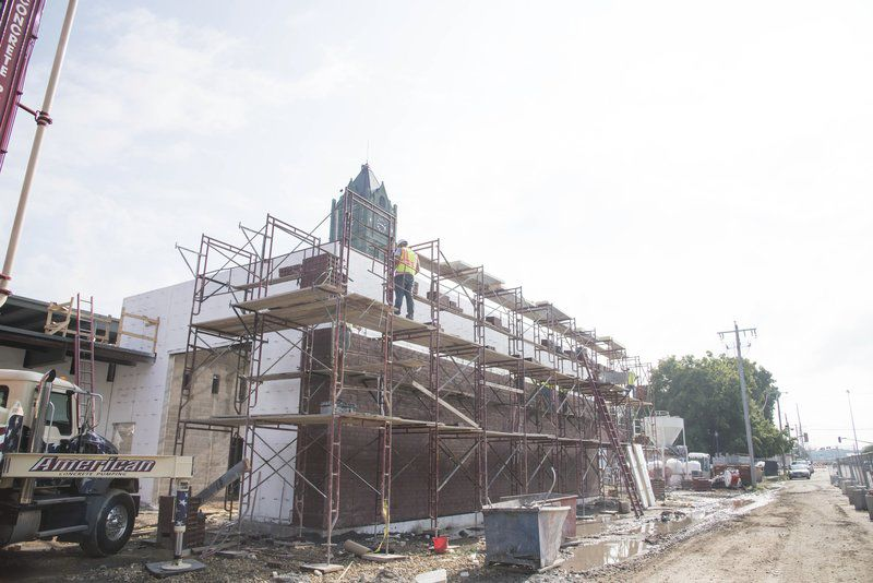 Law center construction progressing
