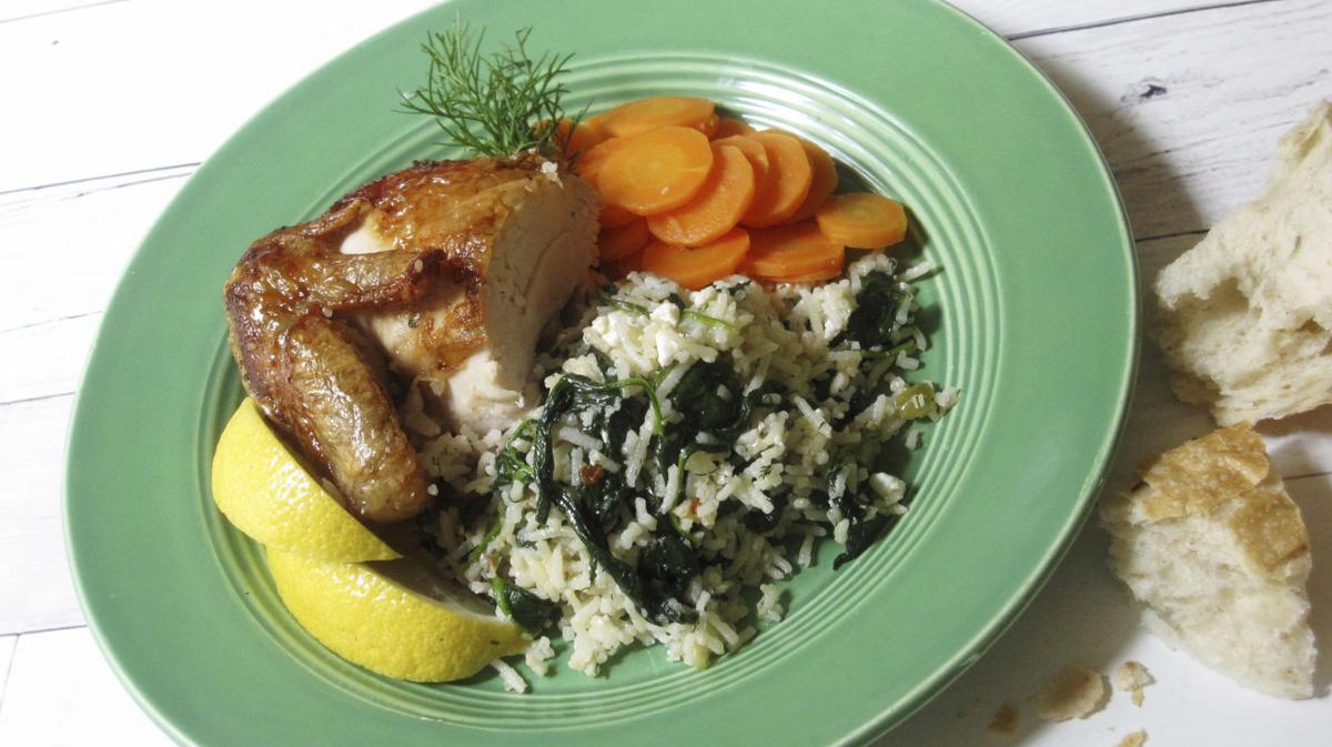 Food KitchenWise Greek Style Rice Pilaf