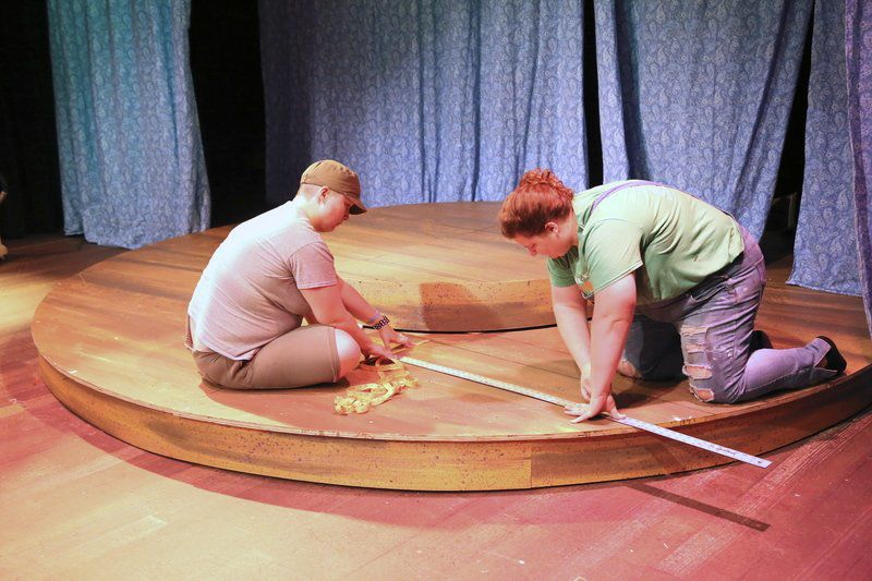 Opening the Showboat requires all hands on deck