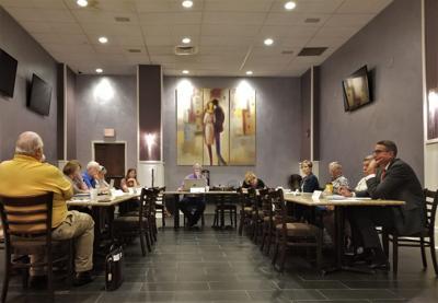 Clinton Community Development Assocaition board meeting