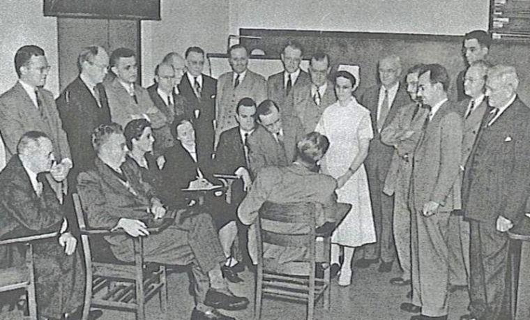 Clinton doctors 1948