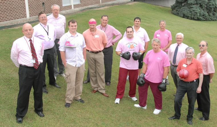 Men wear pink