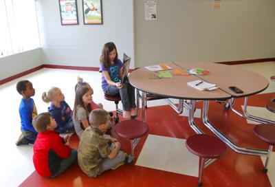 Student Adventures Afterschool Project at Bluff Elementary