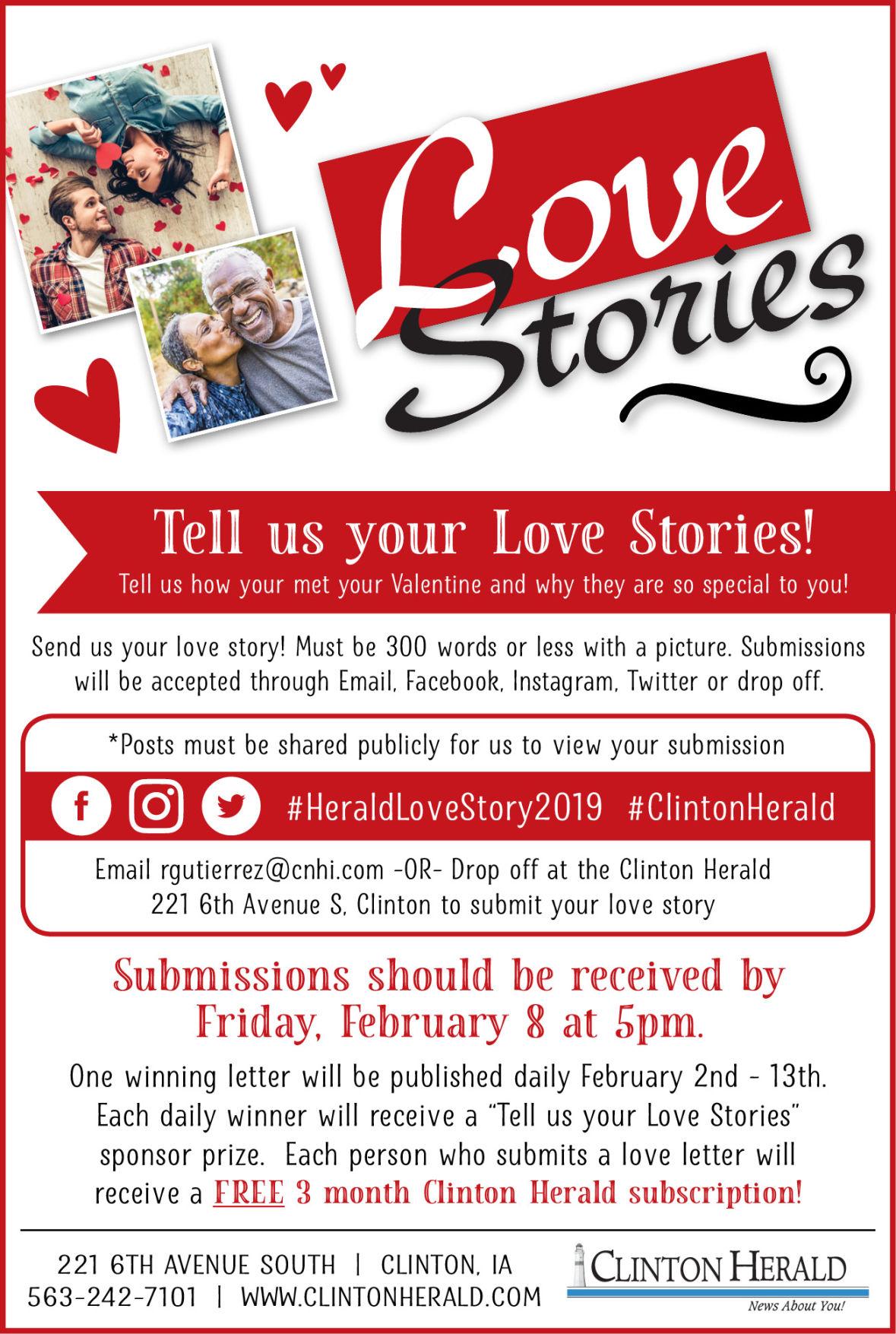Love Stories header