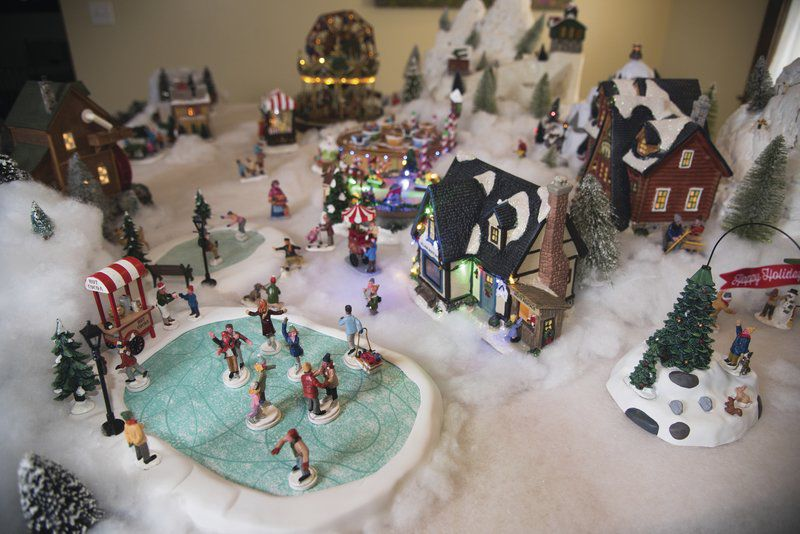 Christmas Villages.Christmas Villages Grow Into Tradition Local News