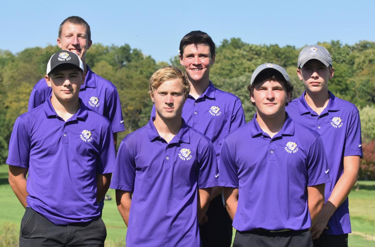 Central DeWitt boys golf team photo