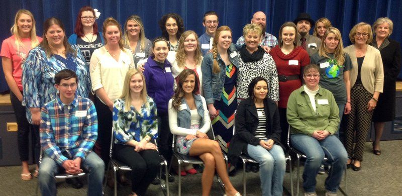 Luncheon showcases student leaders