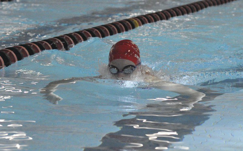 Fillies swim with big schools sports for United township high school swimming pool
