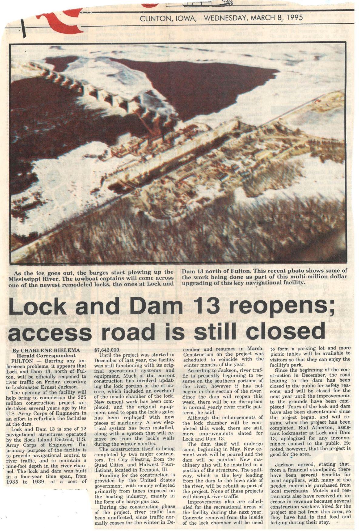 Lock and Dam 13