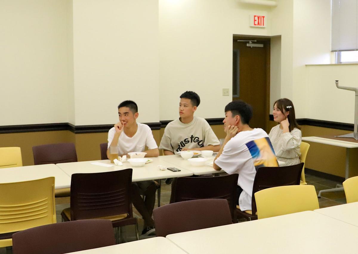 Chinese students at Pangaea International Academy