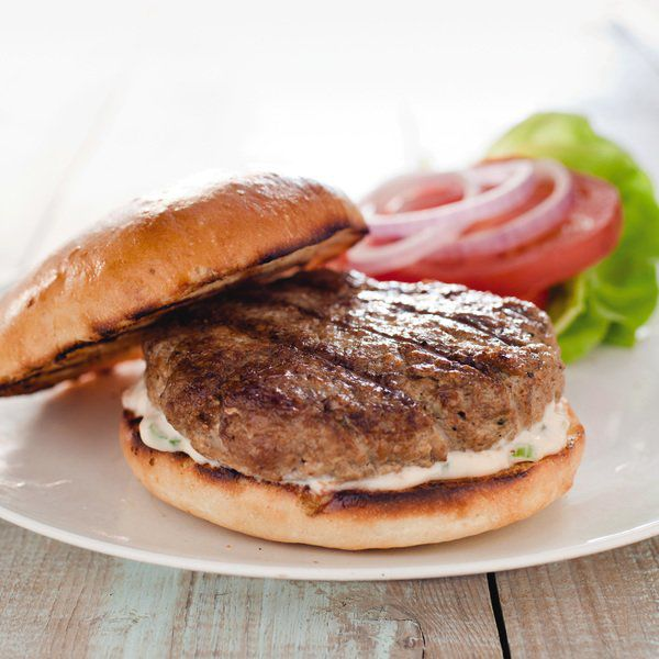 Grind your own turkey thigh for great tasting, juicy burgers