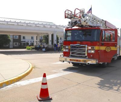 Firetruck at Wild Rose Casino