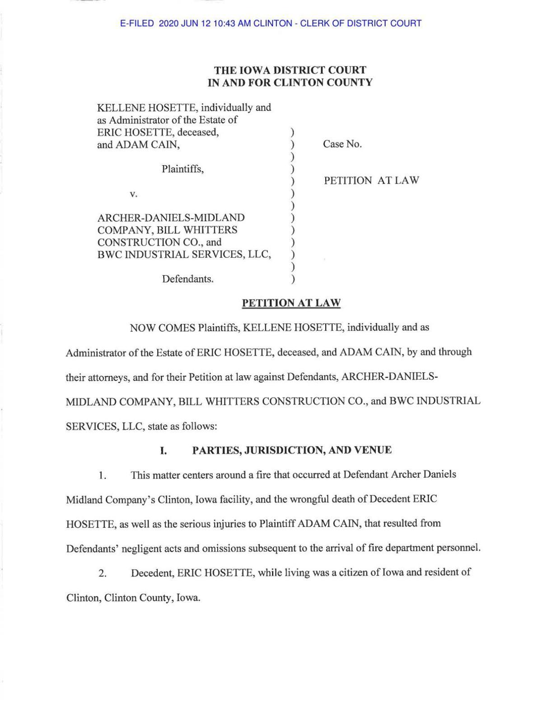 ADM 2020 Lawsuit