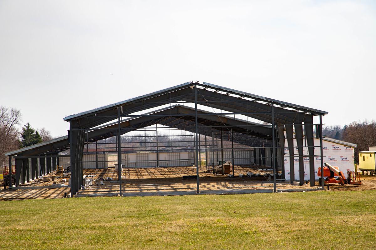 Unity Christian School under construction