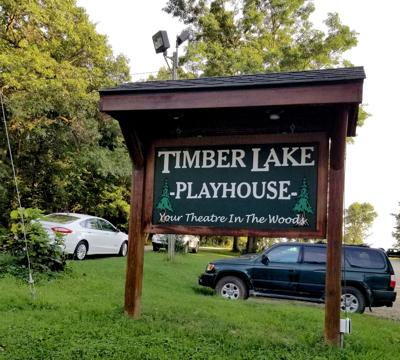 Timber Lake Playhouse sign